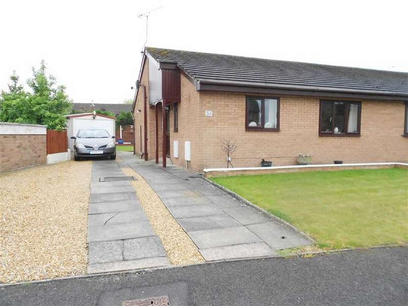 2 Bedrooms Semi Detached Bungalow for sale in Rochester Crescent, Sydney, Crewe, Cheshire