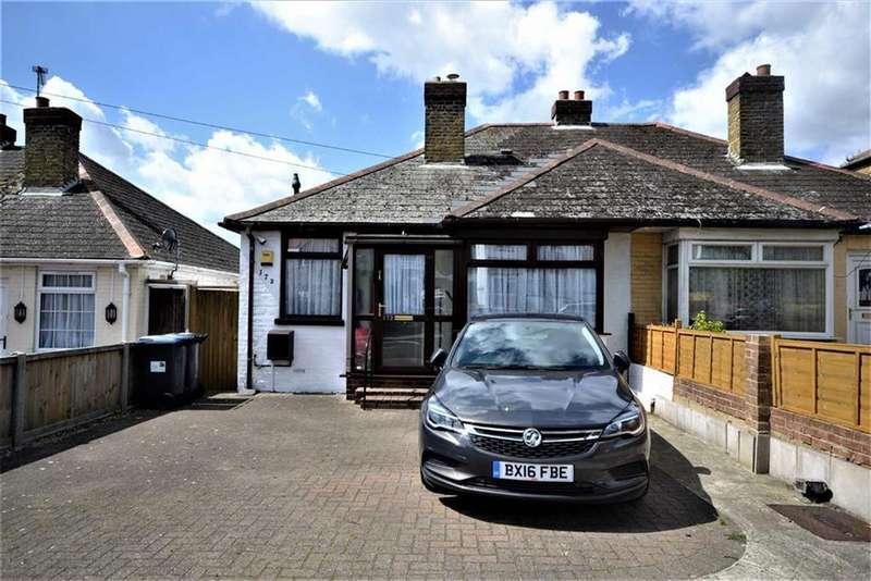2 Bedrooms Semi Detached Bungalow for sale in Margate Road, Ramsgate, Kent