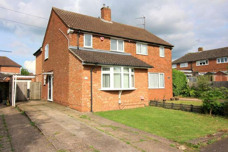 3 Bedrooms Semi Detached House for sale in Epping Way, Luton, Bedfordshire, LU3 3JF