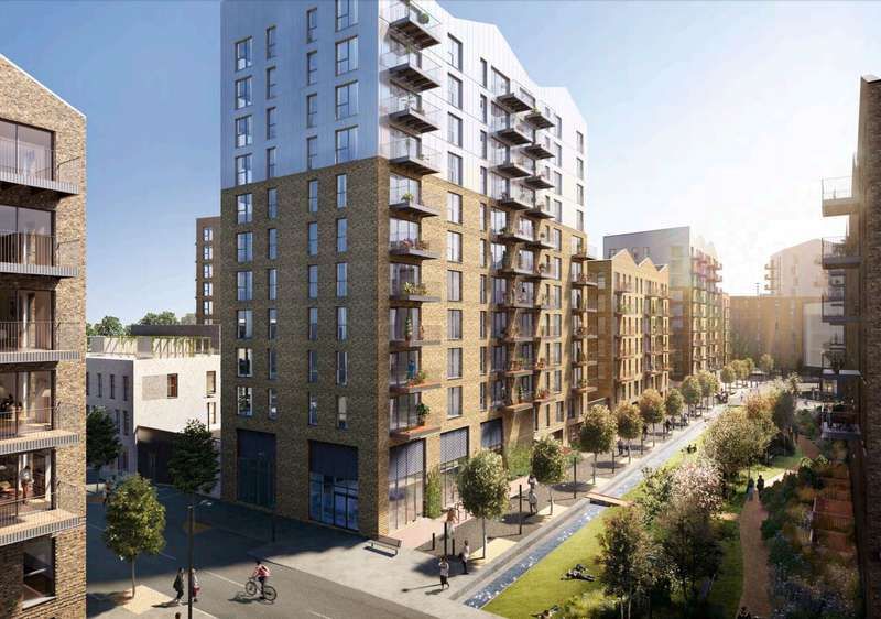 2 Bedrooms Property for sale in The Timberyard, Evelyn Street, SE8 5RJ