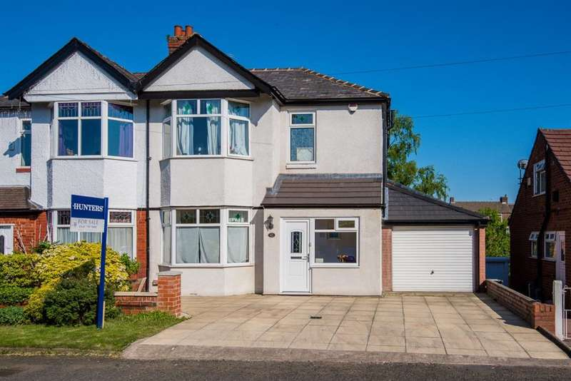 3 Bedrooms Semi Detached House for sale in Douglas Road, Worsley, Manchester, M28 2SG