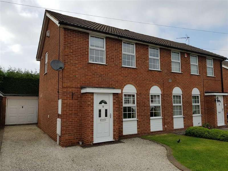 3 Bedrooms Semi Detached House for sale in The Ridgeway, Burbage