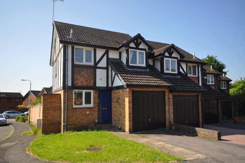 2 Bedrooms End Of Terrace House for sale in Ratby Close, Lower Earley, Reading, RG6 4ER