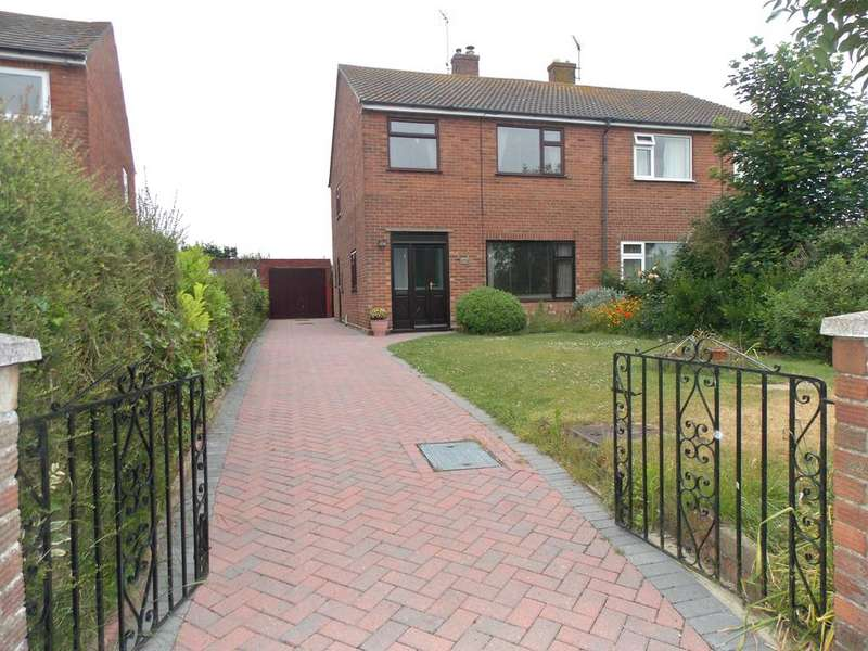 3 Bedrooms Semi Detached House for sale in Bucklesham Road, Kirton, IP100PE