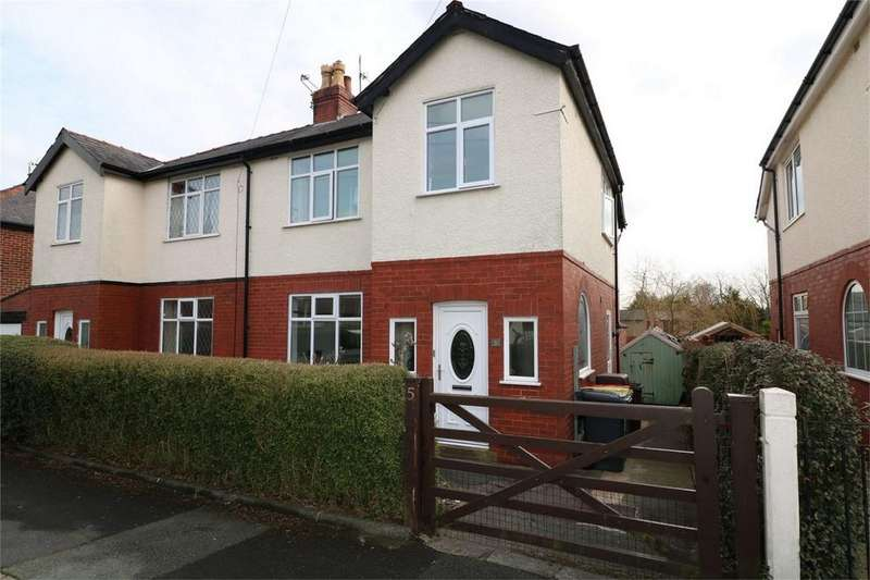 3 Bedrooms Semi Detached House for sale in 5 Cadley Avenue, Fulwood, PRESTON, Lancashire