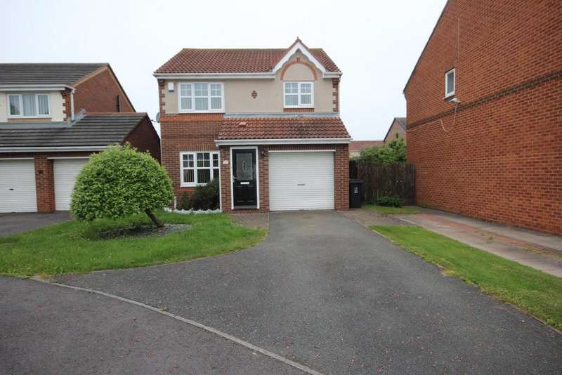 3 Bedrooms Detached House for sale in Fieldfare Road, Middle Warren, Hartlepool