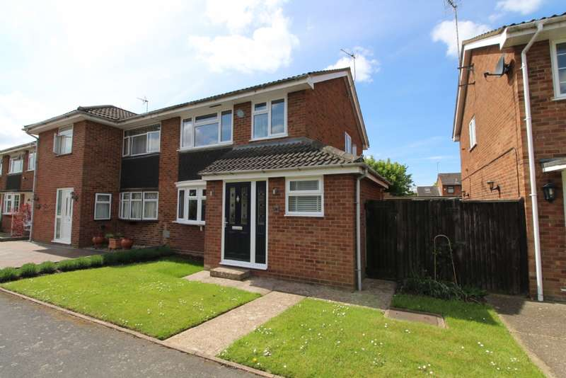 3 Bedrooms Semi Detached House for sale in Richmond Way, Newport Pagnell, Buckinghamshire