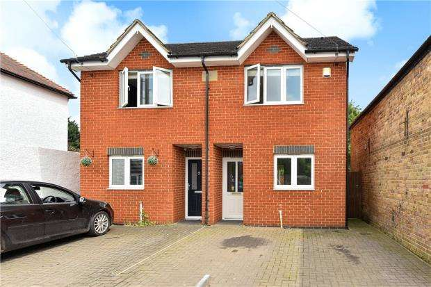 3 Bedrooms Semi Detached House for sale in Milner Road, Burnham, Slough