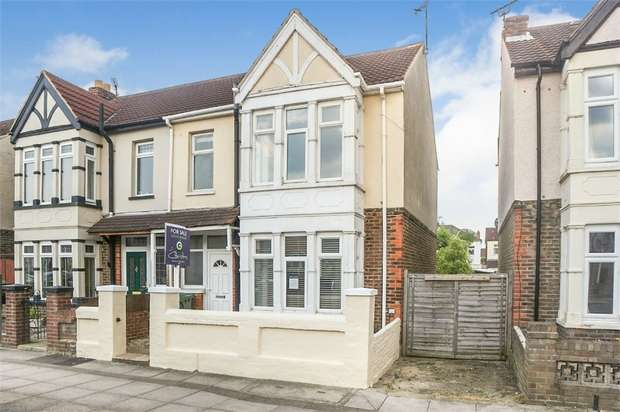 3 Bedrooms End Of Terrace House for sale in Baffins Road, Portsmouth, Hampshire