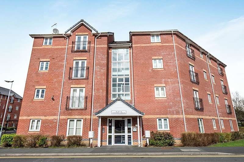 2 Bedrooms Flat for sale in Waterside Gardens, Bolton, BL1