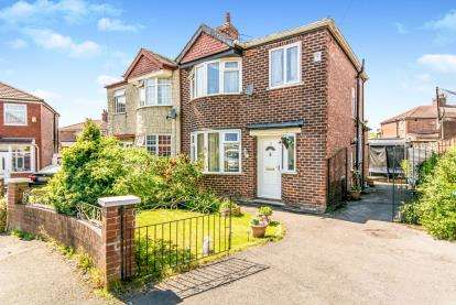 3 Bedrooms Semi Detached House for sale in Ringwood Avenue, Manchester, Greater Manchester