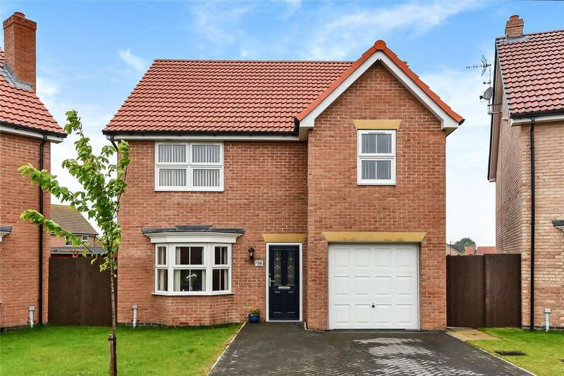 4 Bedrooms Detached House for sale in Brocklesby Avenue, Haborough Fields, DN40