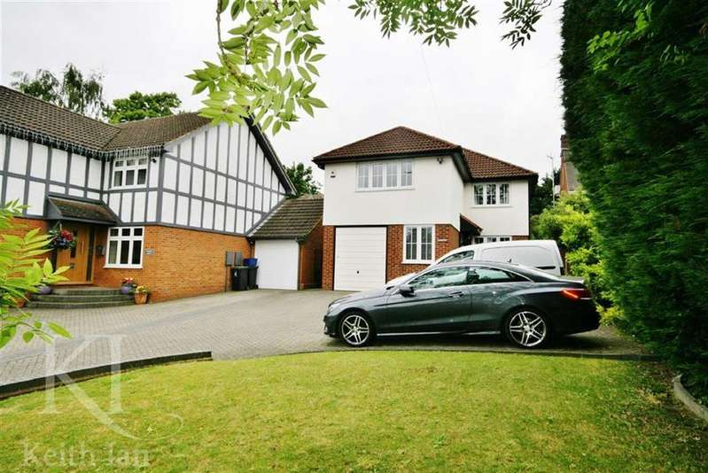 4 Bedrooms Detached House for sale in Middle Street, Nazeing