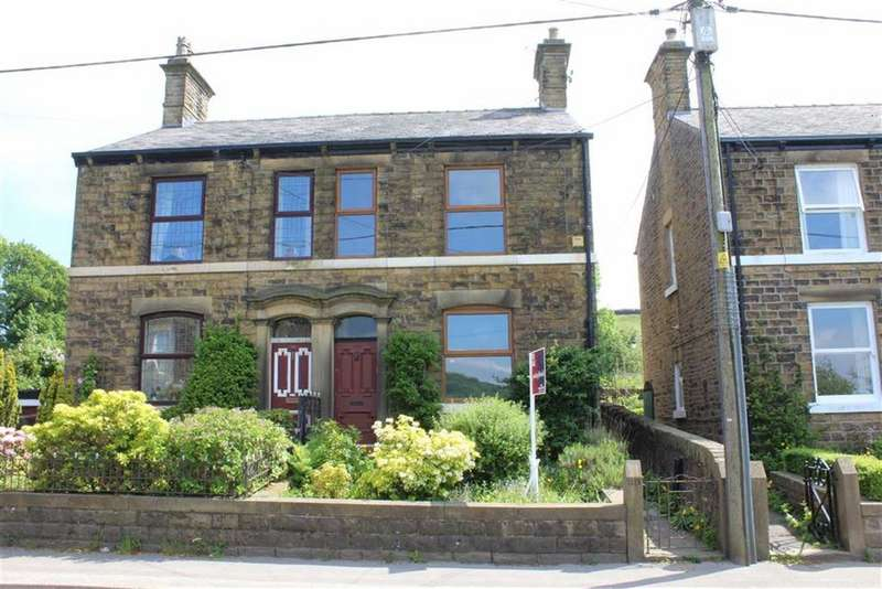 3 Bedrooms Semi Detached House for sale in Hayfield Road, Birch Vale, High Peak, Derbyshire