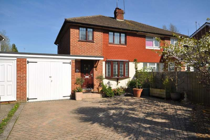 2 Bedrooms Semi Detached House for sale in Quentin Road, Woodley, Reading, RG5 3NE
