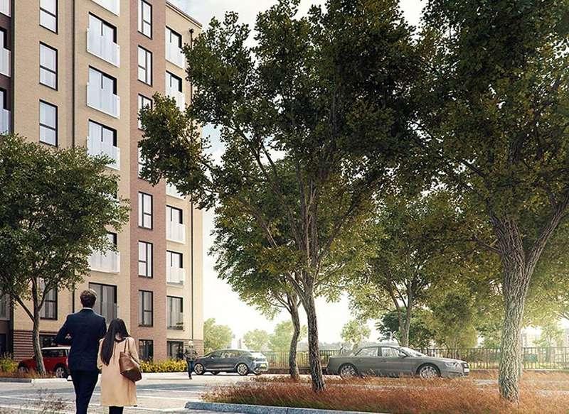 1 Bedroom Apartment Flat for sale in Brookland Court, Saxon Square, Kimpton Road, Luton, Bedfordshire, LU2