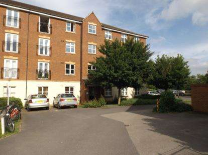 2 Bedrooms Flat for sale in Fount Court, Market Harborough, Leicestershire, .