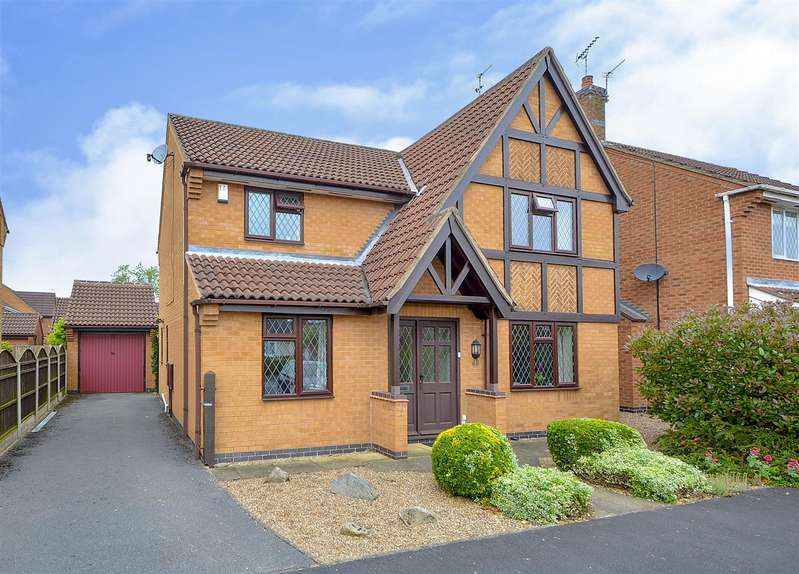 4 Bedrooms Detached House for sale in Holmes Road, Breaston