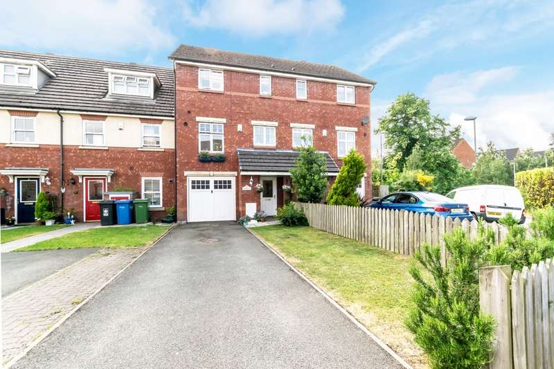 4 Bedrooms Town House for sale in Coopers Place, Warrington