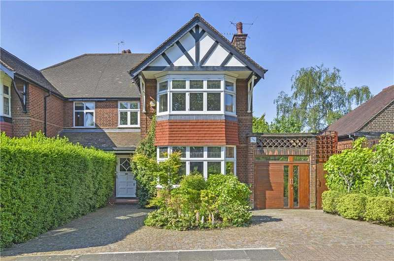 5 Bedrooms Semi Detached House for sale in Tiverton Road, Queen's Park, London, NW10