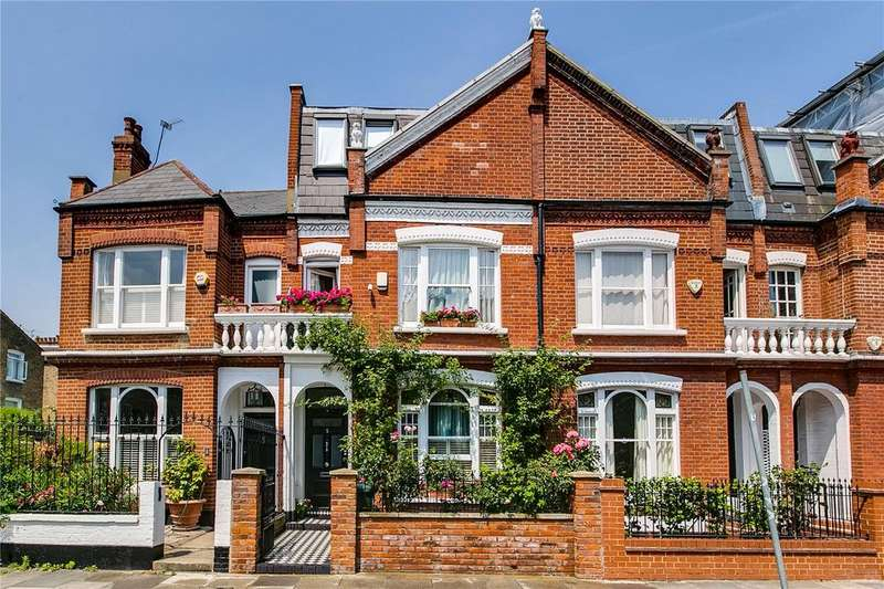 5 Bedrooms Terraced House for sale in Cresford Road, Peterborough Estate, Parsons Green, LONDON