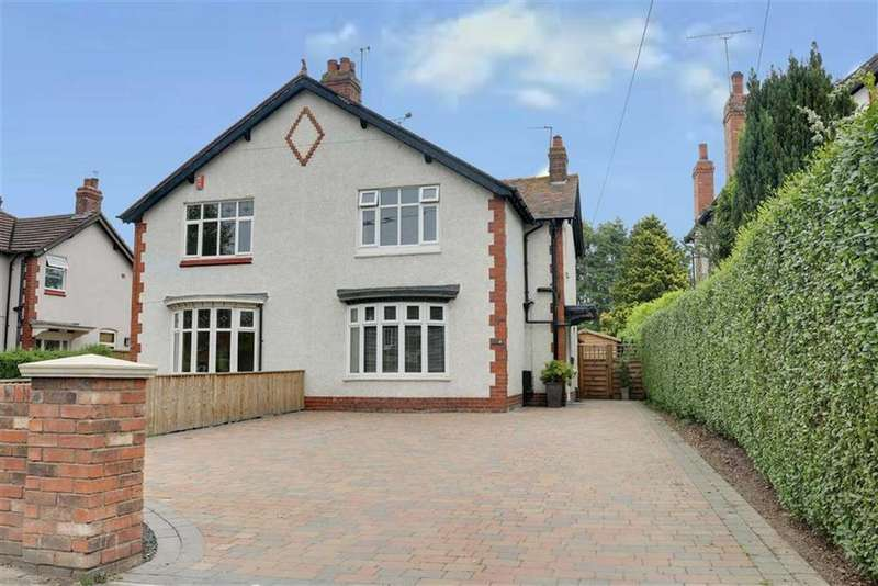 3 Bedrooms Semi Detached House for sale in Crewe Road, Shavington, Crewe