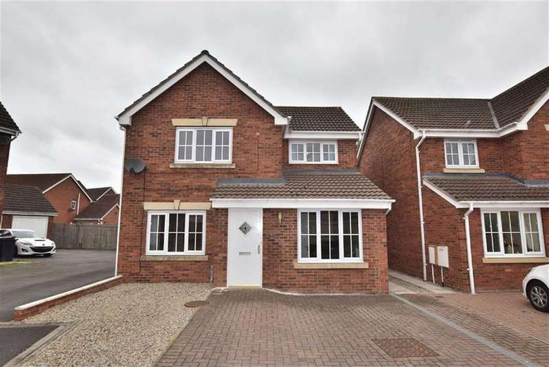 4 Bedrooms Detached House for sale in Churchill Drive, Brough With St Giles, North Yorkshire