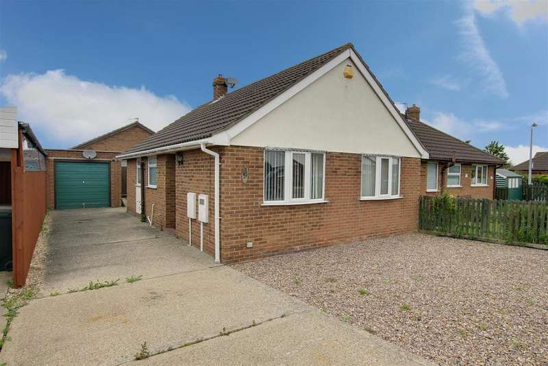2 Bedrooms Semi Detached Bungalow for sale in Jacklin Crescent, Mablethorpe