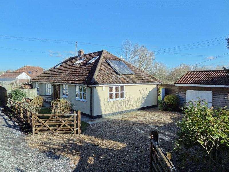 6 Bedrooms Detached Bungalow for sale in Plum Lane, Dunwear, Bridgwater