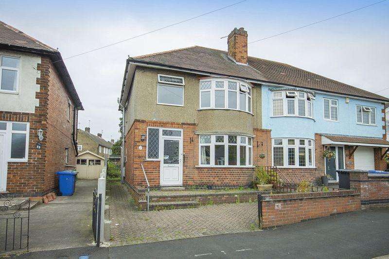 3 Bedrooms Semi Detached House for sale in OLD HALL AVENUE, ALVASTON