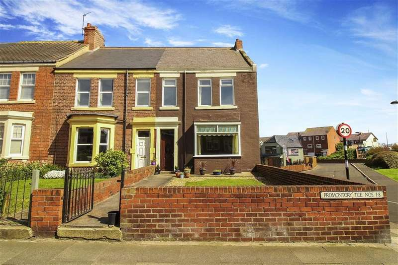 4 Bedrooms Terraced House for sale in PromontoryTerrace, Whitley Bay, Tyne And Wear