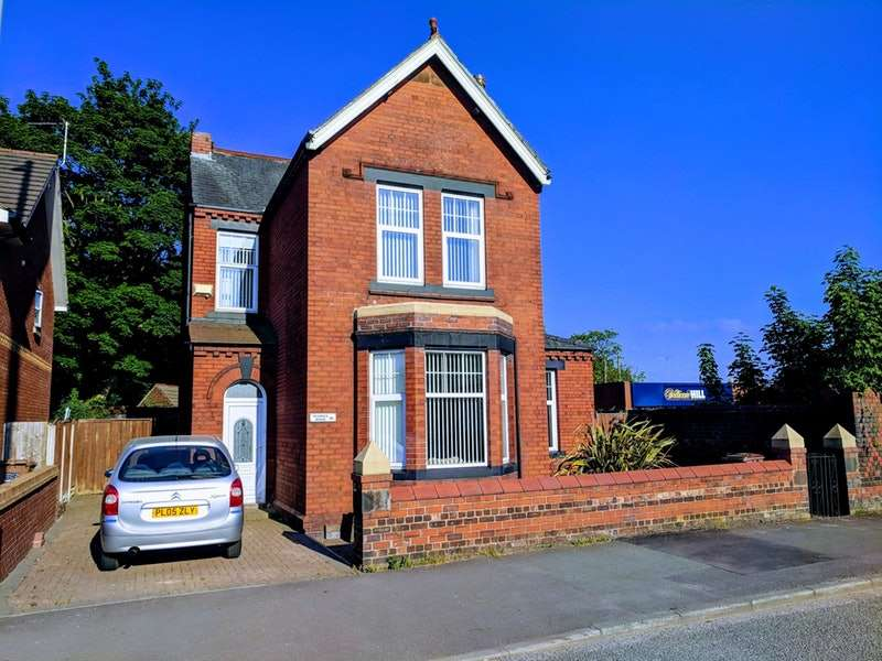 3 Bedrooms Detached House for sale in Jubits Lane, St. Helens, Merseyside, WA9