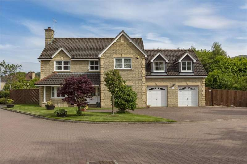 5 Bedrooms Detached House for sale in Whitehaugh Park, Peebles, Scottish Borders