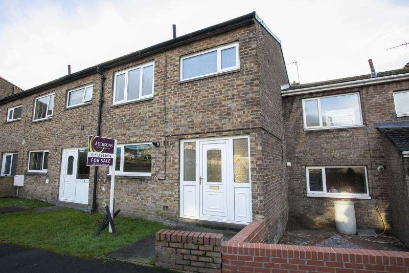 3 Bedrooms Terraced House for sale in Churchill Road , Barnard Castle, Durham