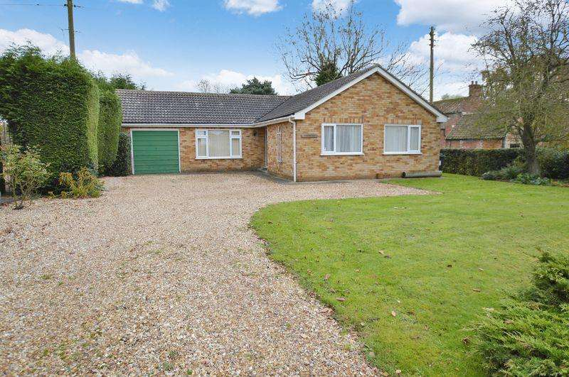 3 Bedrooms Detached Bungalow for sale in Woodberry, Thorpe Road, Tattershall Thorpe