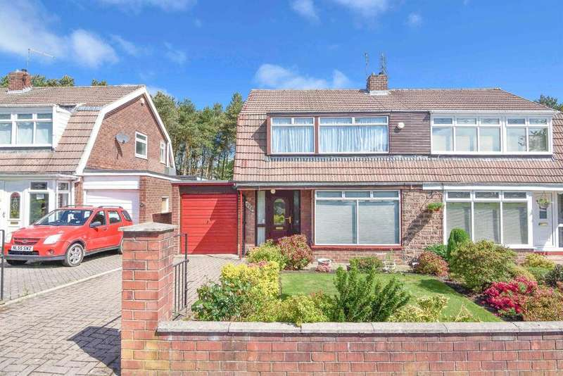 3 Bedrooms Semi Detached House for sale in Greenways, Consett, DH8 7DJ