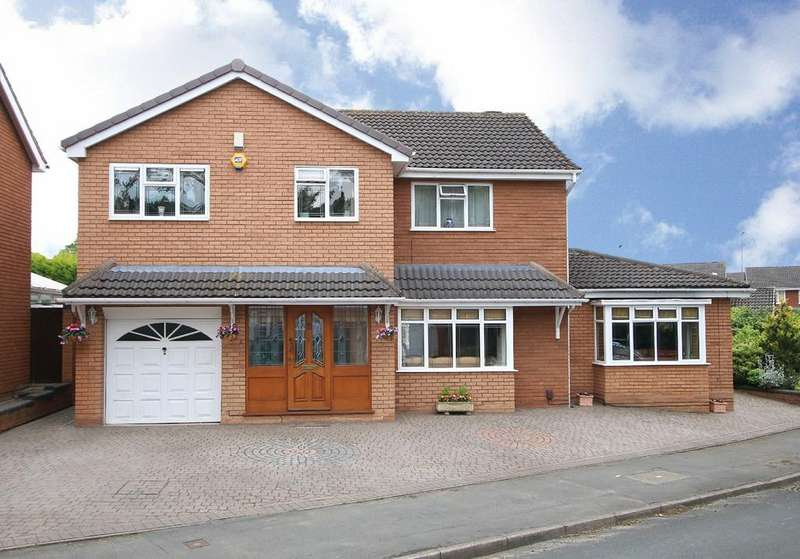 4 Bedrooms Detached House for sale in Carnforth Close, Wall Heath, Kingswinford, DY6