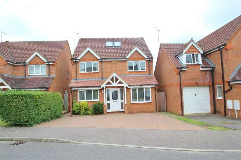 5 Bedrooms Detached House for sale in Embleton Way, Buckingham