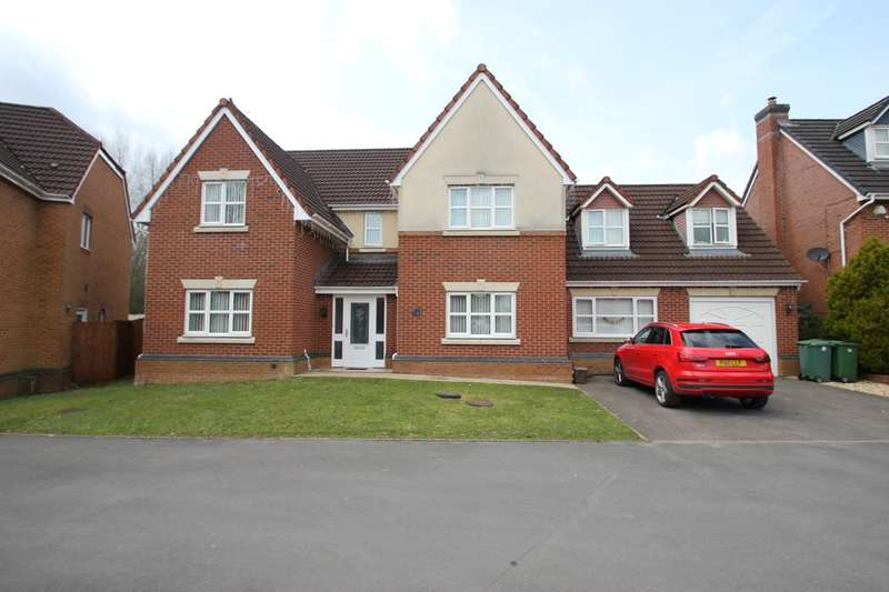 5 Bedrooms Detached House for sale in Clos Padrig, St Mellons, Cardiff, CF3