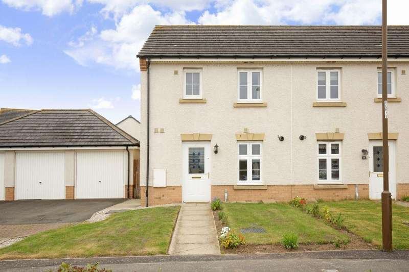 2 Bedrooms End Of Terrace House for sale in 17 Burnbrae Avenue, BONNYRIGG, EH19 3FN