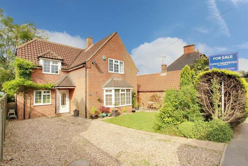 3 Bedrooms Detached House for sale in Main Road, Hundleby, Spilsby