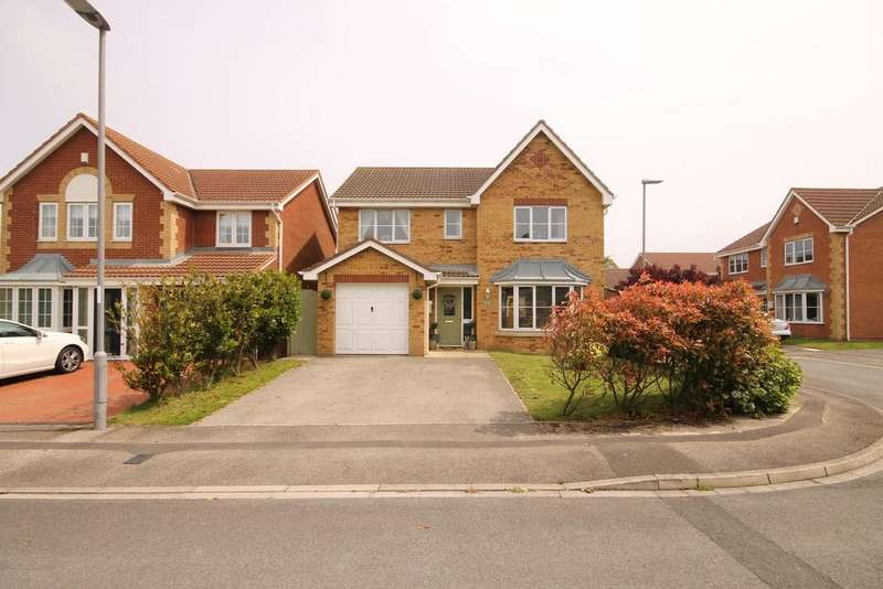 4 Bedrooms Detached House for sale in Harvester Close, Seaton Carew, Hartlepool