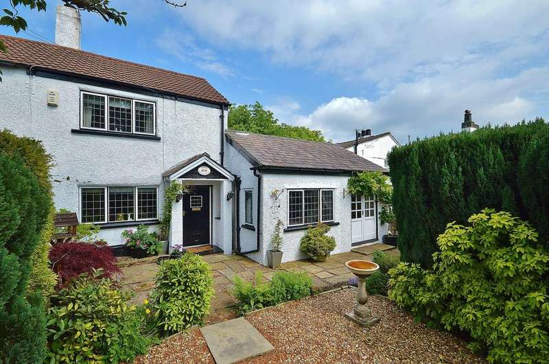 2 Bedrooms Terraced House for sale in Lane Ends, Romiley, Cheshire