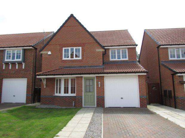3 Bedrooms Detached House for sale in MORGAN DRIVE, SPENNYMOOR, SPENNYMOOR DISTRICT