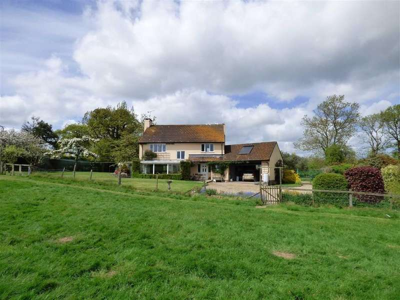 4 Bedrooms Detached House for sale in Kennerleigh, Crediton, Devon, EX17
