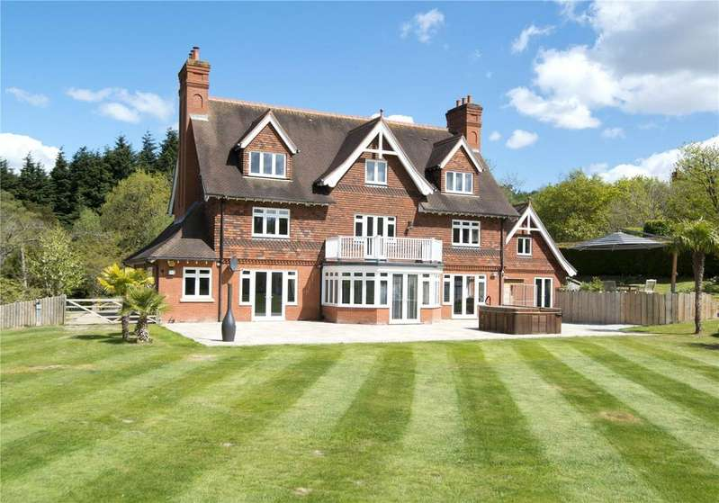 6 Bedrooms Detached House for sale in Springwood Park, Shipbourne, Tonbridge, Kent, TN11