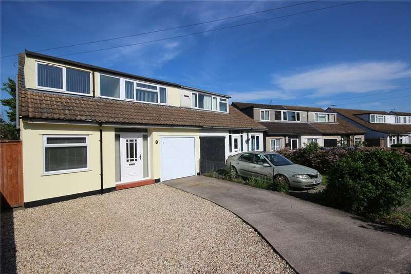 3 Bedrooms Semi Detached House for sale in Manor Grove, Stoke Lodge, Bristol, BS34