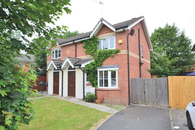 3 Bedrooms Semi Detached House for sale in Starling Close , Sharston, Manchester, M22 4XS