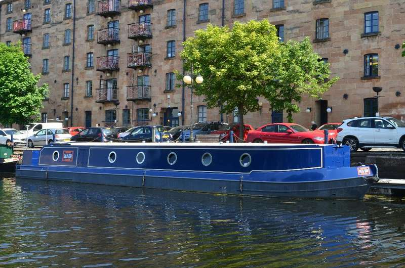 2 Bedrooms House Boat Character Property for sale in Speirs Wharf, Port Dundas, Glasgow, G4 9TH