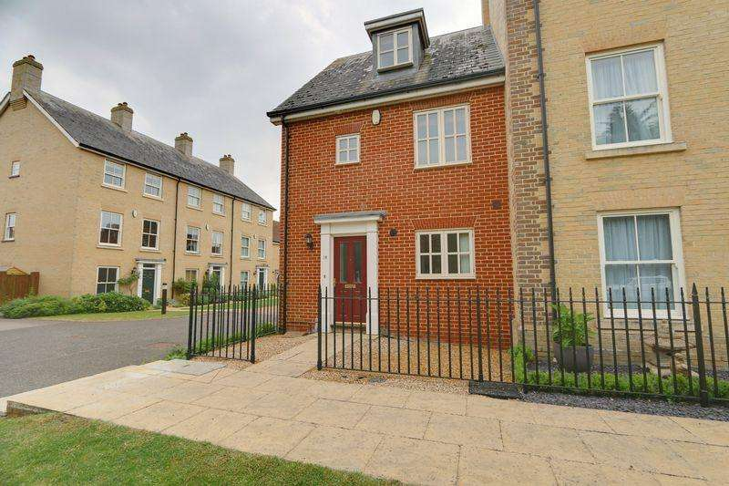 3 Bedrooms Terraced House for sale in Douglas Court, Ely